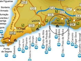 praia da salema mapa Aluga ALGARVE   Casas e Apartamentos no Algarve para Férias   PROCHA 1 praia da salema mapa