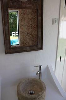 WC Suite fogo e apoio piscina