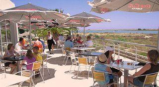 Restaurante esplanada vista Ria Formosa