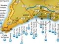Mapa Praia